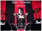 Ex baterista dos Murderdolls morre aos 45.